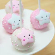 Cake Pops Estrelinha ⭐ . . #acucarasbolinhas #cakepops #popcakes #pinklove #festaestrelinha #festamenina #cutestar #twinklelittlestar…
