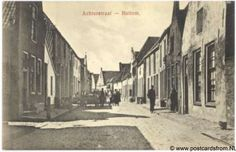 Hattem Achterstraat ca. 1910 I think this photograph shows the church and the house beside it where I lived before immigrating to Canada.