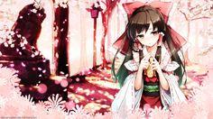 Anime Wallpaper 1920 x 1080 Reimu Hakurei, Shrine Maiden Wallpaper by AbsarNaeem