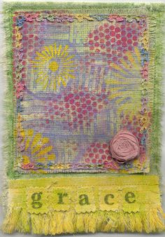 The Prayer Flag Project: Kim Tedrow Make Your Own Flag, Make Do And Mend, Garra, Peace Flag, Beautiful Prayers, Prayer Flags, Fabric Journals, Art Textile, Fabric Art