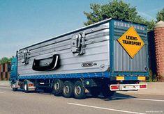 Anuncios creativos de camiones