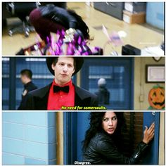 Rosa & Jake Brooklyn Nine Nine