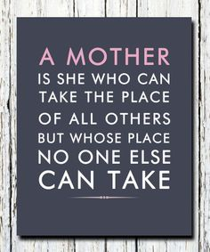 Happy Mother's Day -- March 21