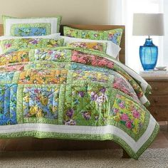 Consumer Queen's Spring/Summer Gift Guide! Featured- The Company Store's Dawn Garden Quilt.