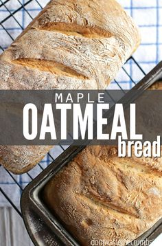 At less than $1 a loaf, this simple, easy and delicious maple oatmeal bread is perfectly sweetened with a hint of maple syrup. A crowd pleaser and family favorite :: Dontwastethecrumbs.com