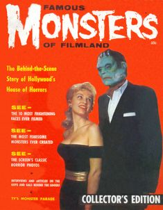 The Masks of Famous Monsters - Issue #1 | Blood Curdling Blog of Monster Masks