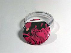 """Comic Book 1.5"""" Button// Watchmen// Comedian flying out of a window, $1.00"""