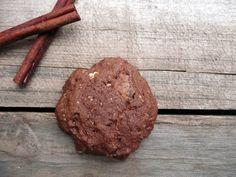 Double Chocolate Cinnamon Oatmeal Cookies