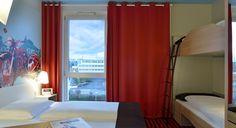 Familienzimmer für 4 Personen im B&B Hotel Bad Homburg