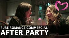 Here's a glimpse at our newest commercial, learn more about my fun, free & educational parties at www.nicoledewey.pureromance.com, #sayyes Pure Romance Commercial - After Party