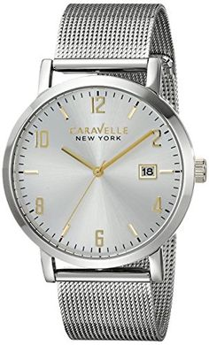 Caravelle New York Men's 45B128 Stainless Steel Watch wit... http://www.amazon.com/dp/B00MW8RHZ4/ref=cm_sw_r_pi_dp_y-8oxb1S52SGS