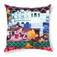 Palace Pillow Cover  by India Circus. I kinda really love this.