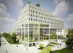 stepped building | best green building designs for future offices