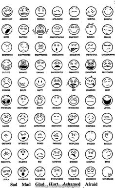 Feeling faces coloring pages feel free to print and color from the best feelings coloring pages at getcolorings. explore 623989 free printable coloring pages for your kids and adults. Drawing Expressions, Facial Expressions, Emotional Drawings, Feelings Chart, Drawing Cartoon Faces, Emotion Faces, Realistic Eye Drawing, Simple Cartoon, Sketch Notes