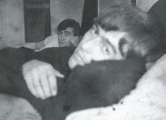John and George, 1963