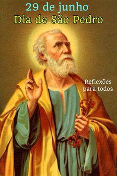 """Acesse """"São Pedro"""" (com a passagem da Bíblia quando se torna discípulo de Jesus)"""