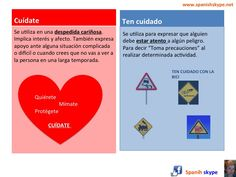 ¿Cuídate o ten cuidado? Take care in Spanish