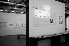 Centre Pompidou-Paris exposition - Mondrian / De-Stijl - Les Graphiquants