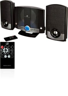 Compact and Shelf Stereos: Home Music Am/Fm Radio Cd System Player Speakers Stereo Remote Alarm Wall Mount -> BUY IT NOW ONLY: $44.53 on eBay!