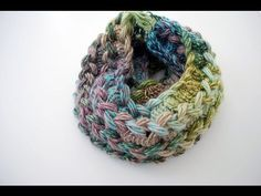 Learn how to crochet the hairpin lace infinity scarf with this free video tutorial from B.hooked Crochet.