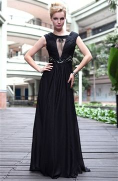 Black is always the coctel color. This A-line Black Bateau Floor-length, give you the style you are looking for an unforgettable night.Style Code: 07114 ($179). Don't think it twice and get it here: http://www.outerdress.com/a-line-black-bateau-floor-length-quick-delivery-dresses-pd-07114-20.html. Visit our webpage: www.outerdress.com #cocteldresses #eveningdresses #occasiondresses
