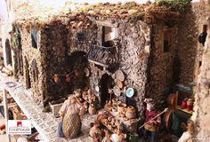 Sicilian Nativity scene in Erice, near Trapani, in Sicily