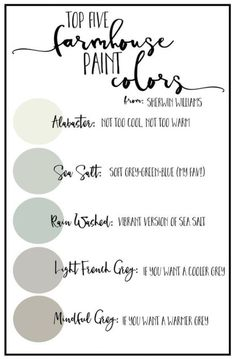 I love farmhouse paint colors right now and Im sharing with you some palettes that might help if you are needing that perfect neutral color or you want to make your home a little - May 04 2019 at Bedroom Paint Colors, Interior Paint Colors, Paint Colors For Home, Wall Colors, House Colors, Dinning Room Paint Colors, Kitchen Colors, Chalk Paint Colors, Paint Color Schemes