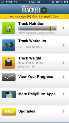 best diet tracker app iphone