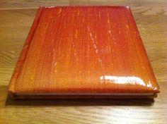 receptieboek ae 525 rood/geel