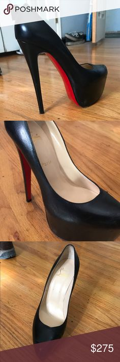 CHRISTIAN LOUBOUTIN RED BOTTOMS👠 Used red bottom heels Christian Louboutin Shoes Heels