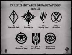 Tariel's Notable Organizations - Part 3 by Levodoom.deviantart.com on @DeviantArt