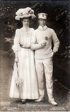 Kronprinz Wilhelm und Kronprinzessin Cecilie von Preussen, the German Crown Couple | Flickr - Photo Sharing!