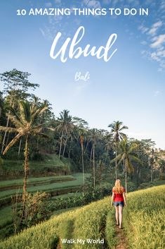No trip to Bali, Indonesia is complete without visiting Ubud. It is the centre of so many incredible things to do in Bali. There are so many choices we've helped whittle it down for you, here are 10 amazing things to do in Ubud. Perth, Brisbane, Melbourne, Bali Travel Guide, Asia Travel, Solo Travel, Travel Guides, Travel Tips, Travel Usa