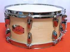 "Yamaha MSD1365SJ Steve Jordan Signature Model 13""X 6 1 2"" Maple Snare Drum F S | eBay"