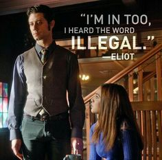 I'm in too, i heard the word illegal.
