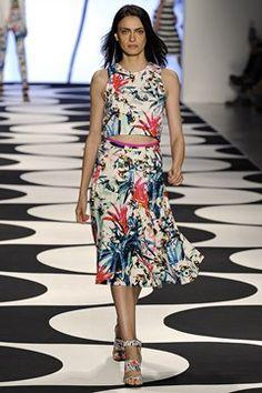 Nicole Miller womenswear, spring/summer 2015, New York Fashion Week
