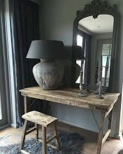 Painting the Past rustic@ monument grey Interior Design Living Room, Interior Decorating, Kitchen Interior, Country Interior, Rustic Interiors, Beautiful Interiors, Home And Living, Interior Inspiration, Home Accessories