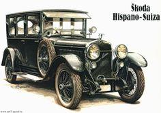 - My old classic car collection Carros Retro, Carros Vintage, Motos Vintage, Automobile, Hispano Suiza, Old Classic Cars, Car Illustration, Illustrations, Decoupage Vintage