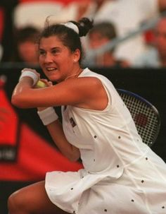 "Tennis Great Monica Seles On Binge Eating: ""I Was So Ashamed"" Monica Seles, Andy Roddick, Tennis Photos, Bjorn Borg, Sport Tennis, Tennis Stars, Binge Eating, Maria Sharapova, Thinspiration"