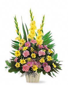 Order Warm Thoughts Arrangement sympathy from Villere's Florist, your local Metairie florist. Send Warm Thoughts Arrangement sympathy for fresh and fast flower delivery throughout Metairie, LA area. Types Of Flowers, Fake Flowers, Beautiful Flowers, Fresh Flowers, Funeral Bouquet, Funeral Flowers, Large Flower Arrangements, Funeral Flower Arrangements, Floral Arrangement