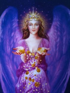 Angel of abundance