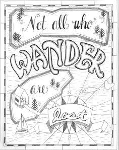 (1) Not all who wander are lost by Jacqueline S. - Skillshare