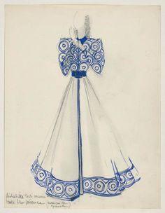 Modèle de désabillé, Madeleine Vionnet, 1938-1939 | Les Arts décoratifs
