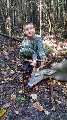 Brady Myers  8 point shot in Rogers City