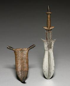 Sheath, c. 1900. Africa, Democratic Republic of the Congo, Ngbandi, late 19th - early 20th century.