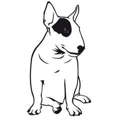 "Результат пошуку зображень за запитом ""bull terrier logo"""