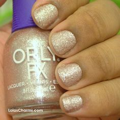 Orly FX Rose Pixel -- has a touch more pink than appears