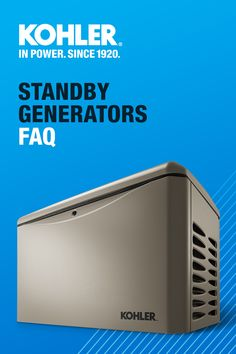 If you have questions about standby generators, we have answers. Explore KOHLER Generators here. Survival Prepping, Survival Skills, New Energy Source, American Home Design, New Technology Gadgets, Modern Garage, Emergency Supplies, Cool Gadgets To Buy, Pole Barn Homes