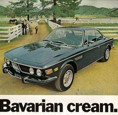 BMW  3.0cs advert