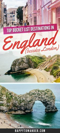 A list of stunning bucket list destinations in England, including historic sights, quaint villages and beautiful must-sees.